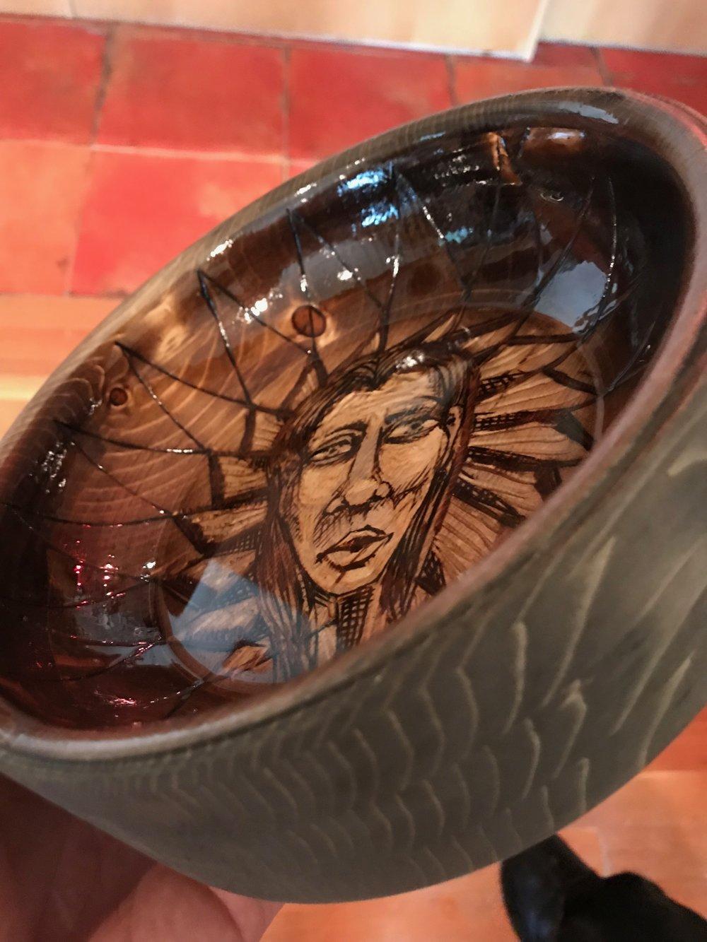 Pine Face Bowl
