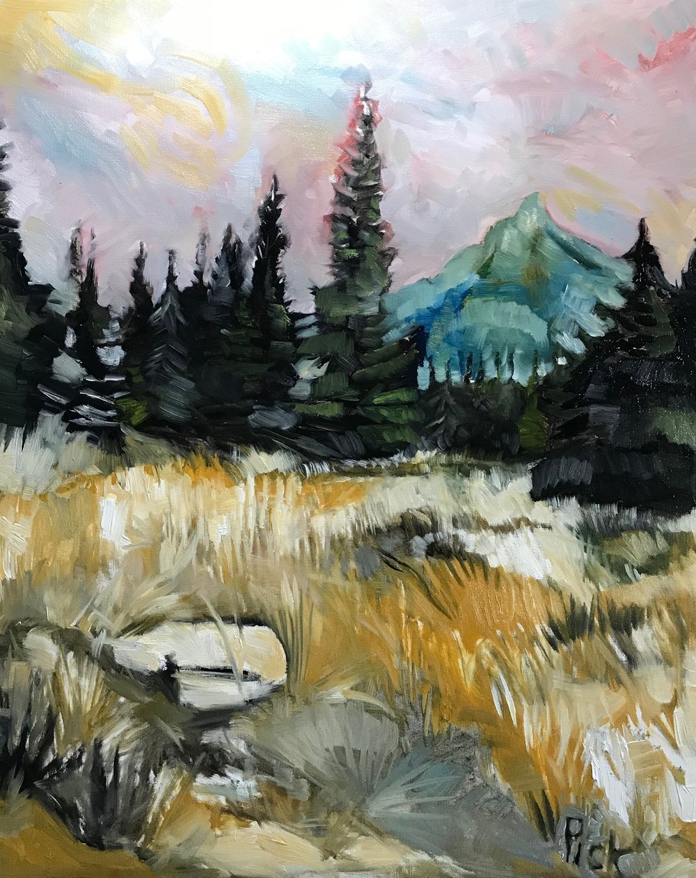 Ross Peak/ Brackett Creek