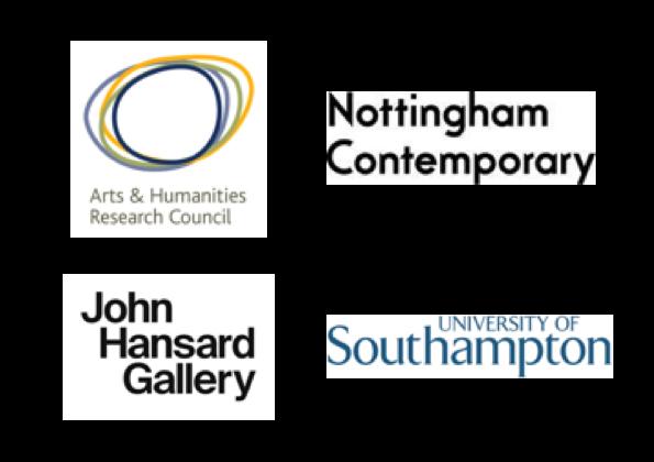 Thanks: - AHRC Leadership Fellowship SchemeDepartment of English at the University of SouthamptonJohn Hansard GalleryNottingham Contemporary