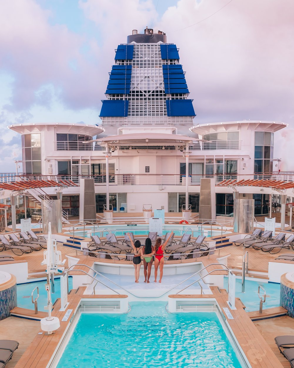 celebrity summit: deck 10 spa (photo by ready set jet set)