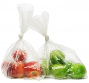 Light weight plastic bags can help extend the life of produce.