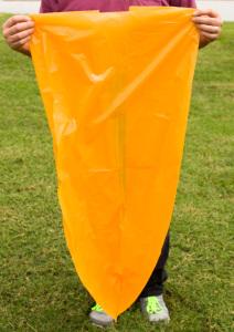 56 Gallon Orange Trash Bag