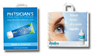 The economical choice for promo bags are very often the plastic ones.