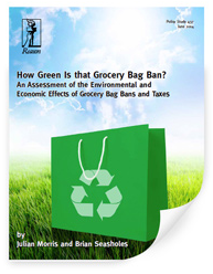 How green is that grocery bag ban? An assessment of the environmental and economic effects of grocery bag ban and taxes.