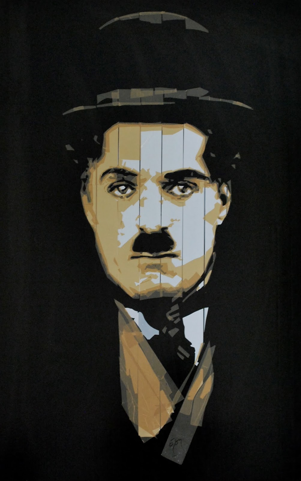 Charlie Chaplin Packaging Tape