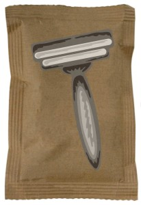 Prolong the life of Razor blades with a desiccant