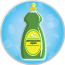 Dishwashing Liquid for use on a DIY Slip N Slide