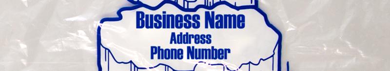 Ice Bag Business Identification Slug
