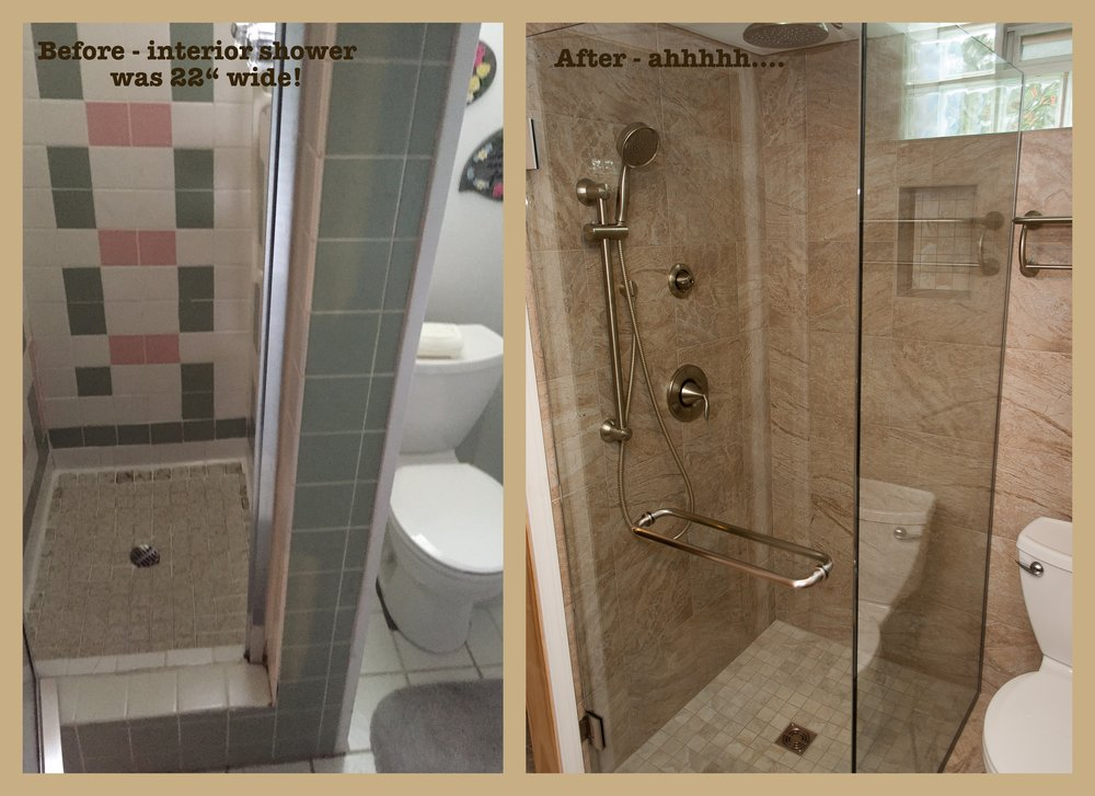 Shower Enlargement