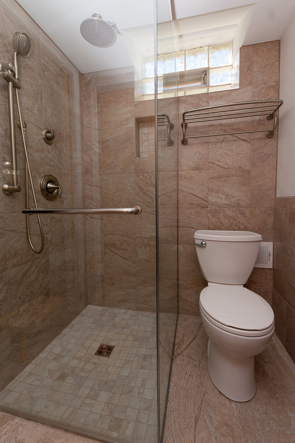 Expanded Tiny Shower -