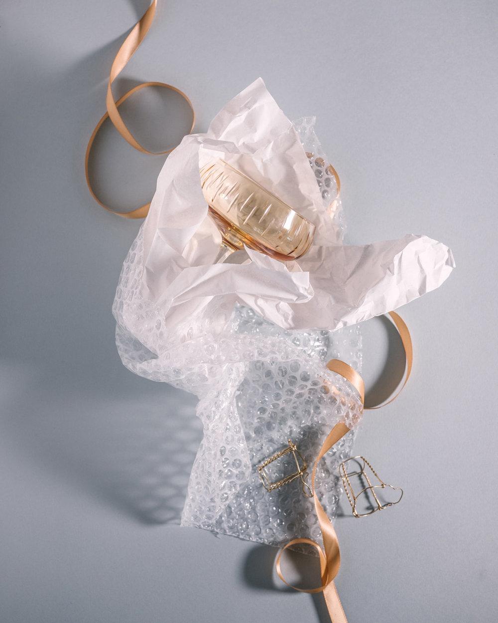 louise roe champagne glass krystall produktfoto mats dreyer fotograf oslo norge stylist interior