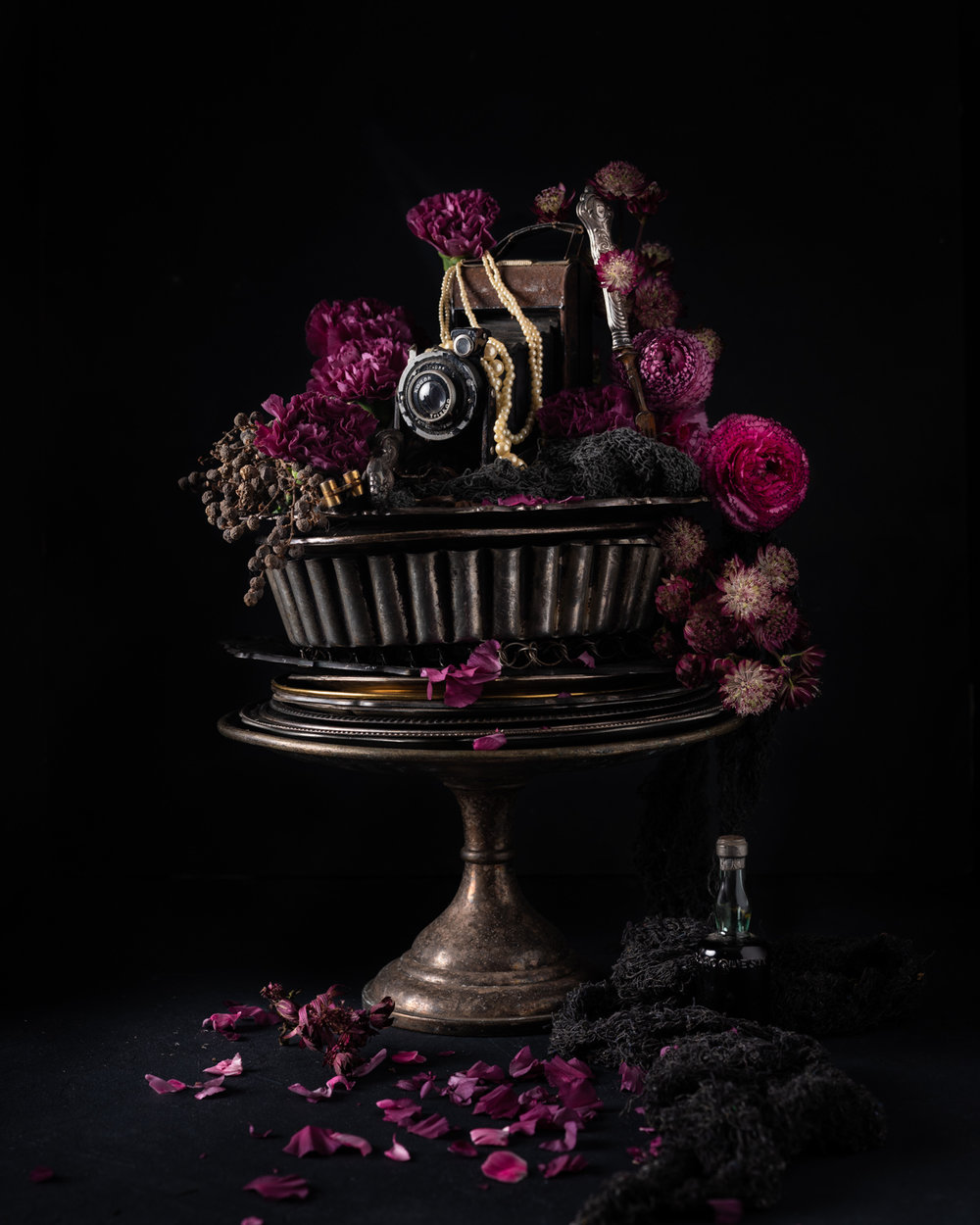 Kodak flowers mats dreyer fotograf artprint stylist interior blomster oslo norge fujifilm