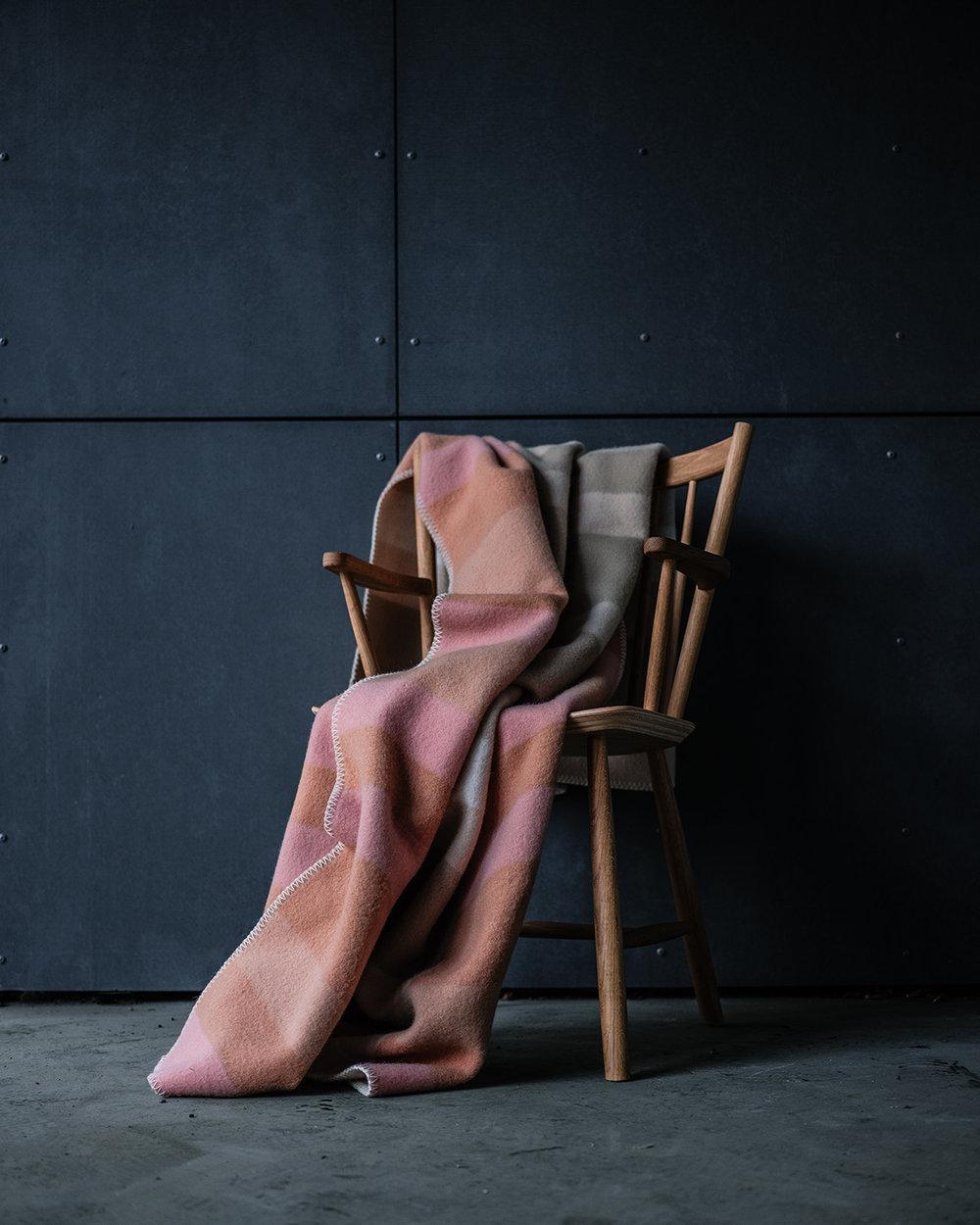 Røros pledd produktfoto mats dreyer fotograf stylist