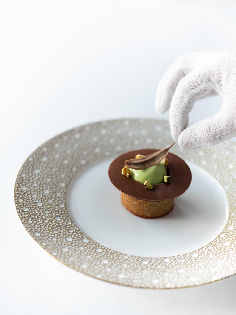 Alaise restaurant dessert fotograf mats dreyer stylist oslo michelin star