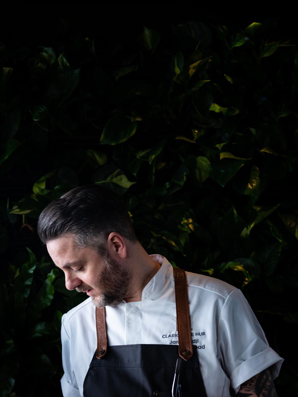 Norda restaurant chef portrait portrett fotograf mats dreyer oslo