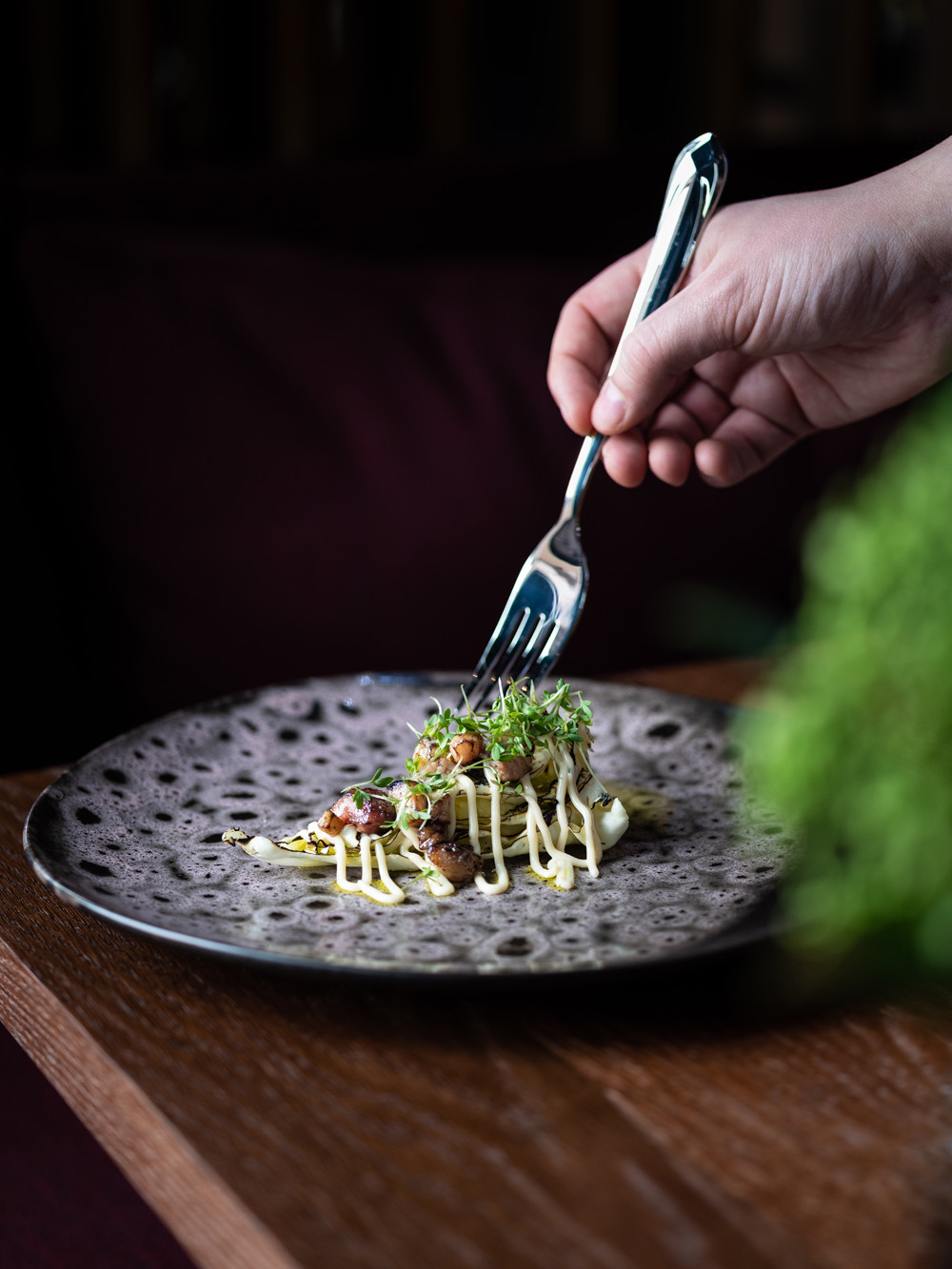 Norda restaurant oslo The Hub fotograf Mats Dreyer spisskal stylist