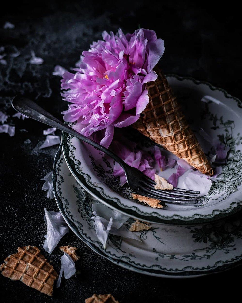 fotografering mats dreyer kjokken miljo blomser