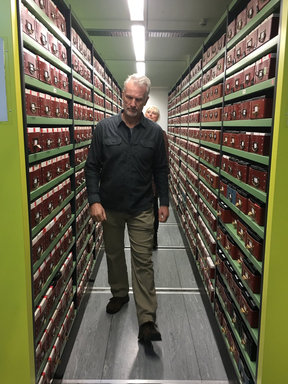 Scott Wolter at The National Archives Kew