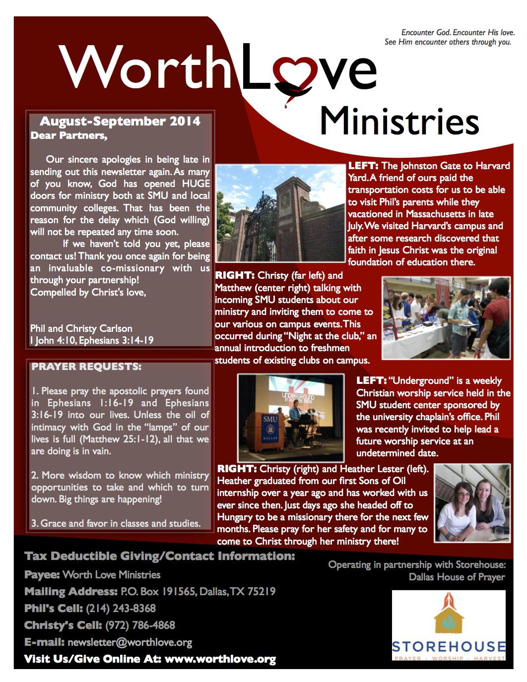 WLM newsletter