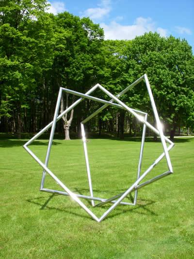 Star - Material: Welded AluminumDimensions: 10' x 10' x 6' depth
