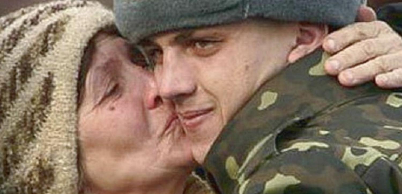 солдатские картинки про маму один