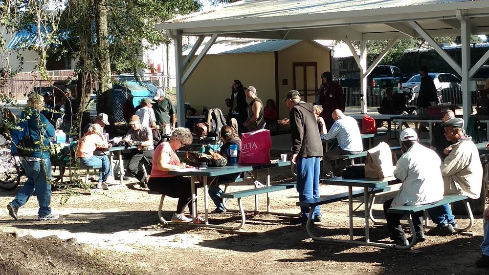 Feed My Sheep - Feed My Sheep is a vibrant and active St. Paul Catholic Church Parish outreach ministry that provides nutritious hot meals for the homeless primarily through the Alfred-Washburn Center in Pensacola. Volunteers in this active ministry