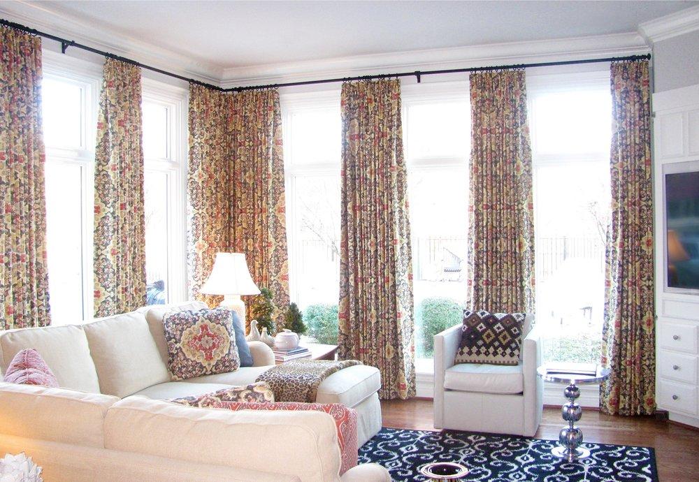 custom window treatments drapery roman shades valances slip covers northwest arkansas 3.jpg