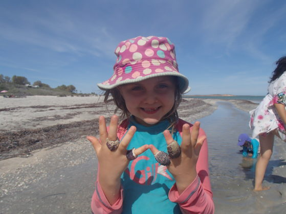 Holiday activities: Finding mermaid jewellery at the beach