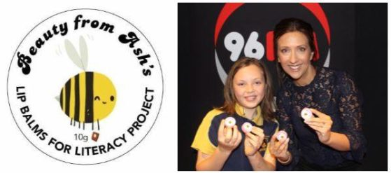 Beauty From Ash's lip balm on 96Fm with Carmen and Fitzi