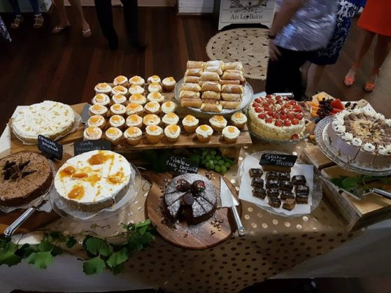 Make a difference- The ladies at the 'Yes You Can' conference were definitely good at baking!