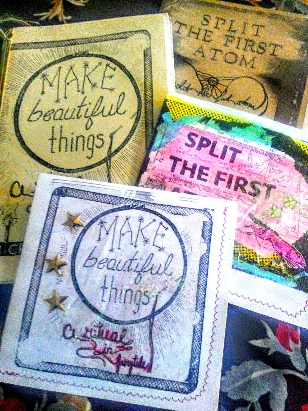 Zines & Cd's - every little thing