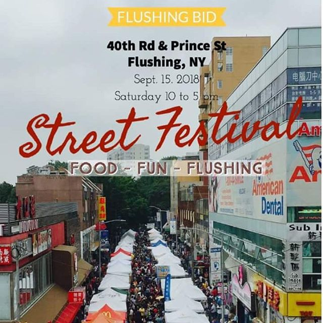 We will be at the Flushing BID Street Festival tomorrow! Come out and visit us, it will be beautiful!  @flushingbid From 10AM - 5PM At Prince Street and 40th Rd Flushing, NY