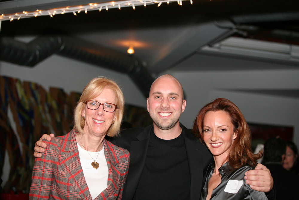 Me w/ Paris Hauter and cherished Advisor and supporter Victoria Hopper