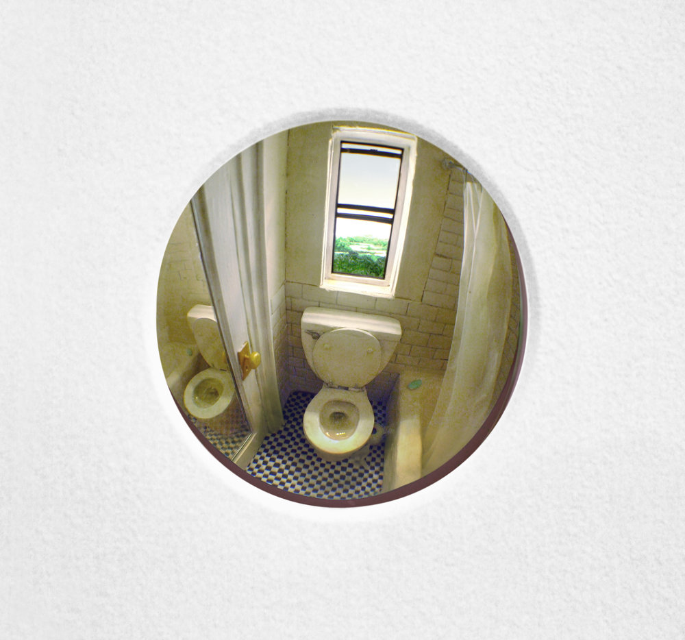 Bathroom (Twice), 2017