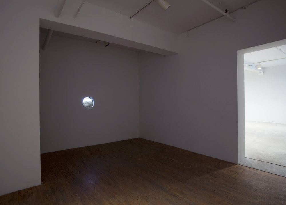 Installation View: Three Fairy Rings (in Monochrome), 2011