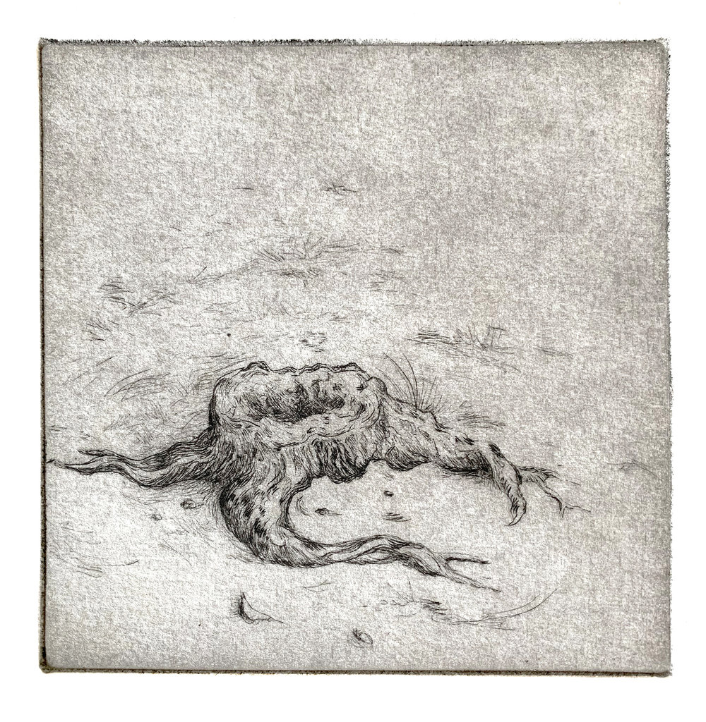 Small Stump with Landscape, 2014