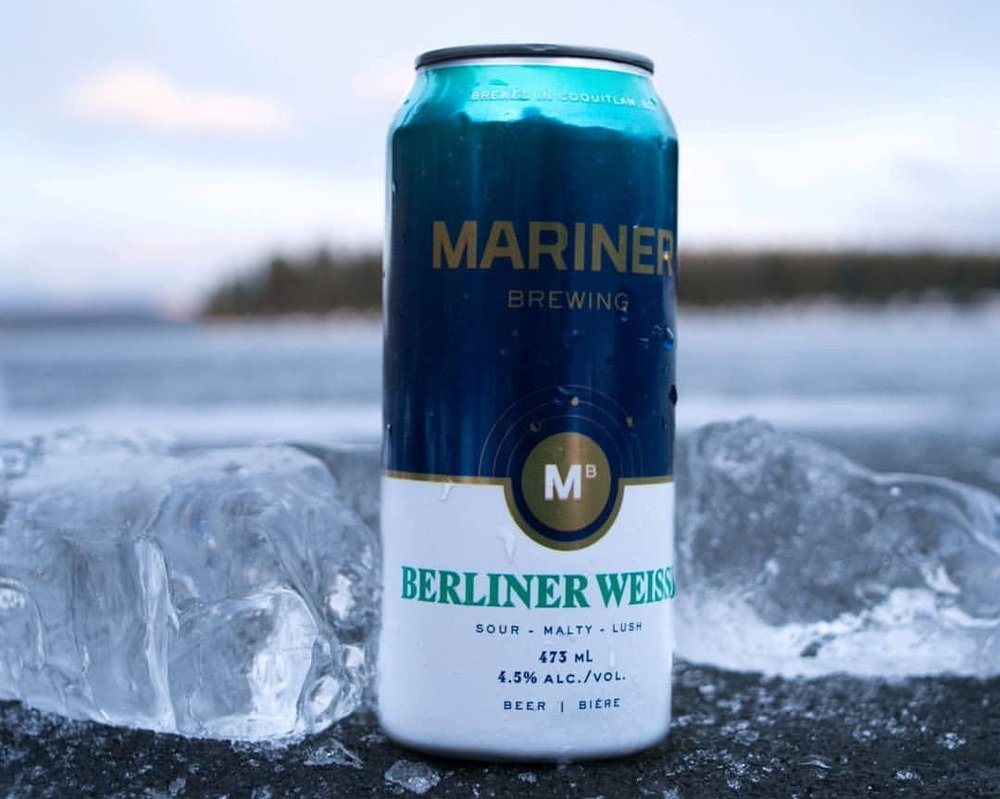 Berliner Weisse - This tart and surprisingly refreshing beer is sour mashed with wheat and pours bright gold with a thick head. Opens with a touch of bready malt on the nose and lacto character on the palate. Perfect summer beer or any time of year.ABV: 4.5% | IBU 5