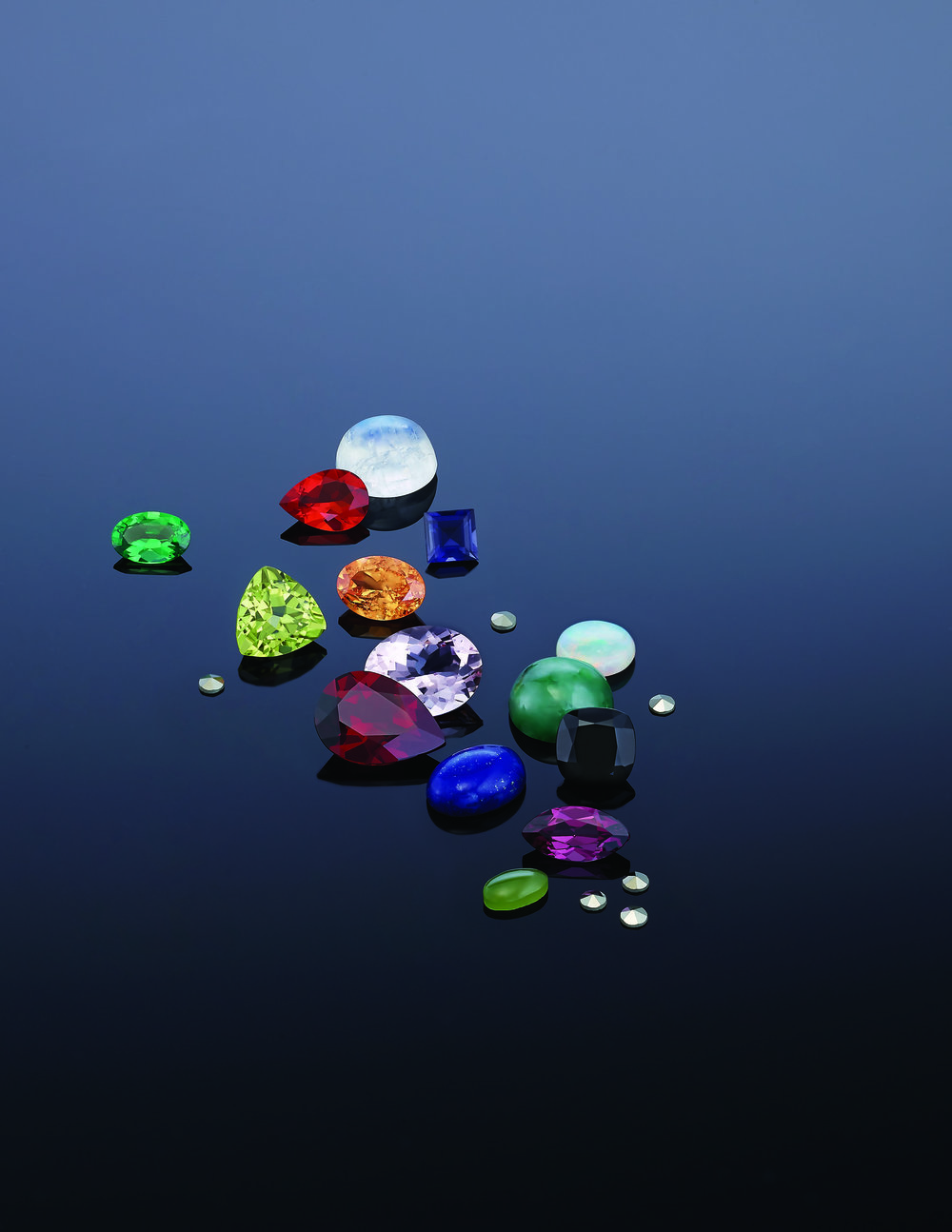 Browse Black Box Gemstones - These uncalibrated gemstones are individually sourced for beauty and rarity.