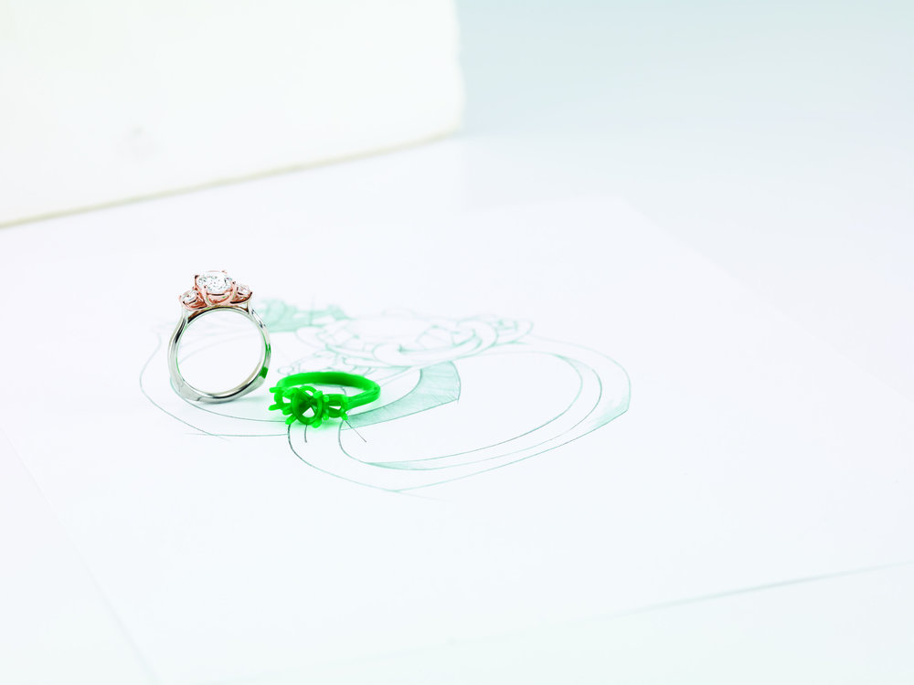 Custom Design - Create a one-of-a-kind engagement ring