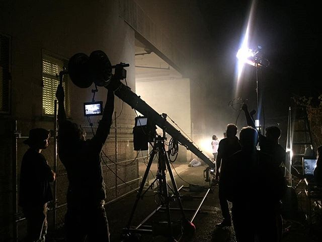 Sometimes we get to use the jib in the dark alley behind our building. You want jibs? We got 'em!