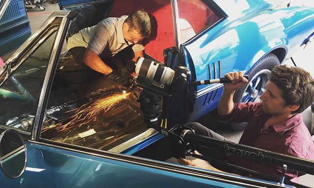 Here's a little throwback to a shoot our prolific DP Lionel Flynn did last year. #sparks #canoncameras #directorofphotography