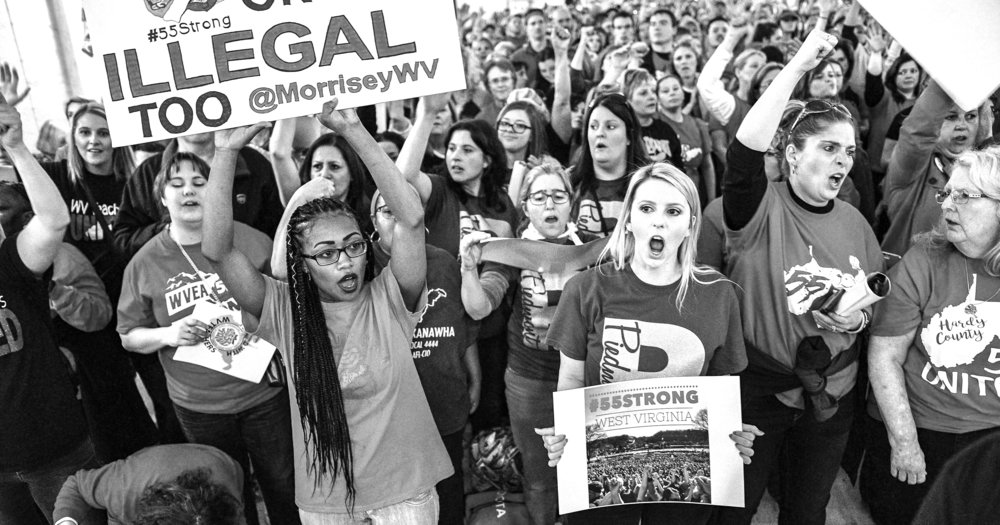 West Virginia teachers strike (2018).