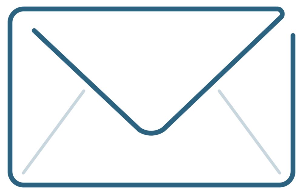 Contact envelope icon