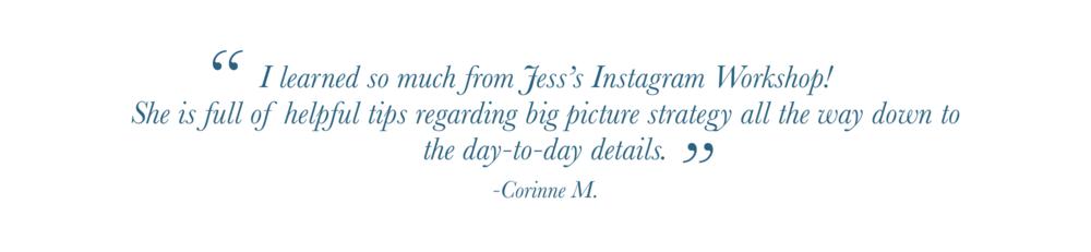 Social Media Strategy Testimonial Charlottesville Virginia Instagram