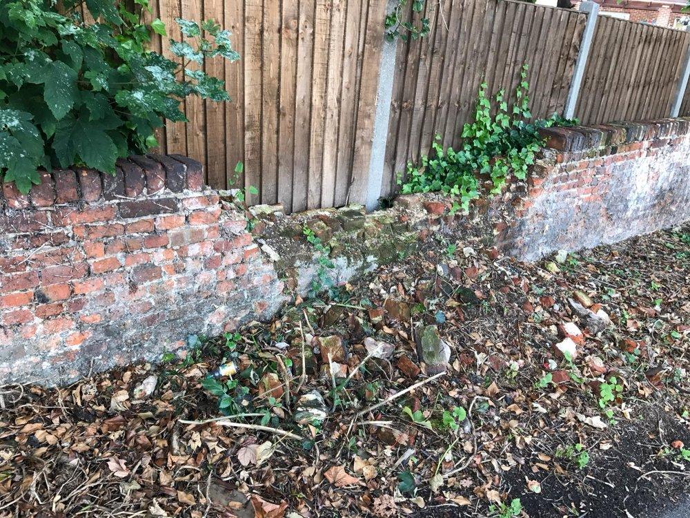 Brick Restoration Project 2 - Before