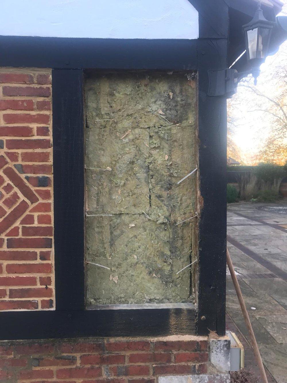 Brick Restoration Project 4 - During