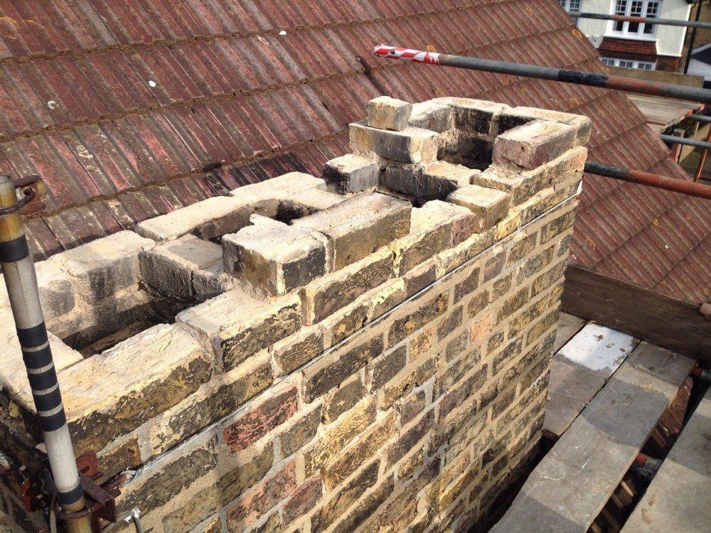 Brick Restoration Project 5 - Before
