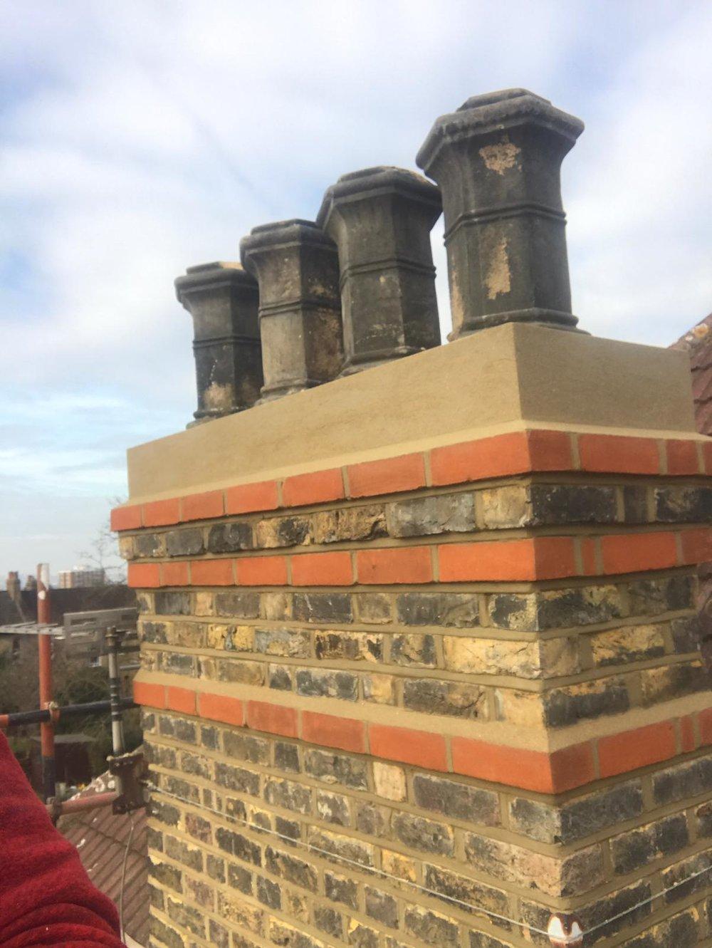 Brick Restoration Project 5 - After