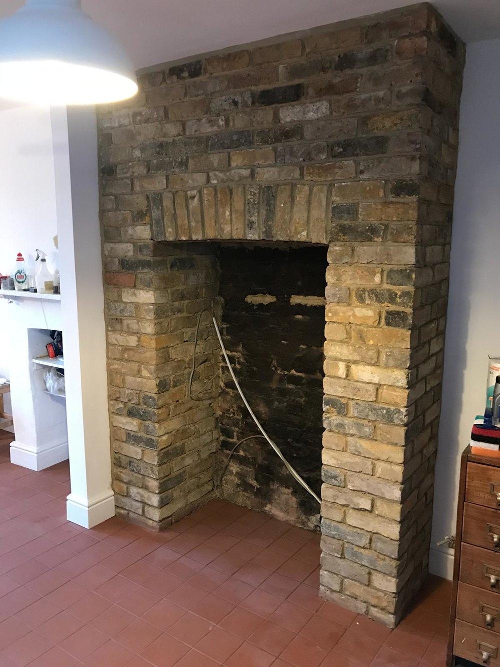 Brick Restoration Project 6 - Before