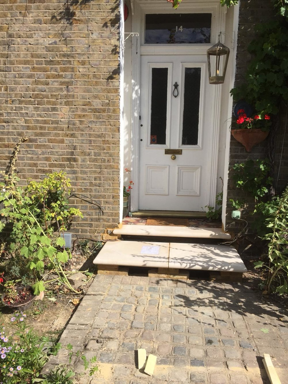 Stone Replacements and Restoration Project 2 - After